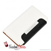 Kalaideng Fresh Wallet case wit - Galaxy Note 2